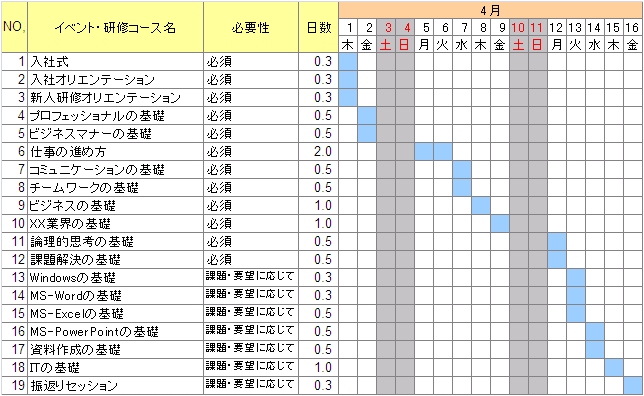 """すべての講義 1週間 予定表 : alt=""""業務 5"""" title=""""業務 5"""" /> """" alt ..."""